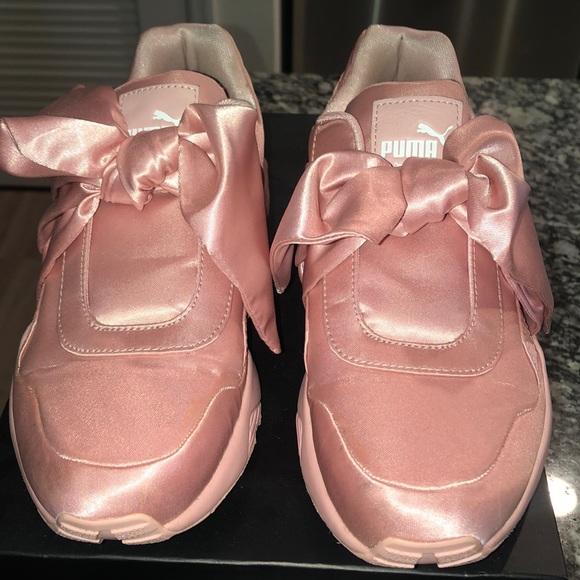 puma bow tie sneakers off 65% - www